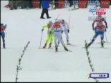 Лыжные гонки.Кубок мира.Спринт.Женщины.Свободный стиль.Финальный забег.Дюссельдорф (Германия) 2009 г.
