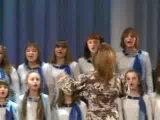 6 марта 2010 - Старший хор - Зачем человеку крылья
